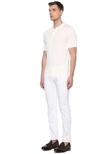 Canali Tişört Beyaz